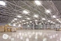 Industrial Lighting Solutions / When the ceiling is at least 20 feet up, GE offers a variety of Albeo™ high bay LED lighting that truly rises to the test.  For maintenance lighting, warehouse lighting, recreation center lighting, hangar lighting and storage lighting, GE indoor lighting fixtures provide industrial and commercial lighting to help improve energy efficiency while enhancing productivity.  Plus with Albeo LED solutions, you can save on energy costs every step of the way.