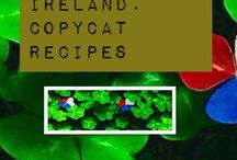 Copycat Recipes: Americans Cooking In Ireland / Copycat recipes of foods we miss and can't find in the Emerald Isle