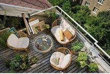 Garden, balcony, terrace / by Stylowi.pl