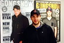 Celebs in GONGSHOW / See who's making the news by rocking the gear.
