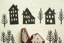 Woodcut | Linocut | Stamp