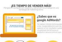Google AdWords / Infografías y guias útiles para las campañas publicitarias de Google AdWords. www.pagoporclick1.com.mx