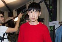 Backstage / Men Fashion Show's Backstages