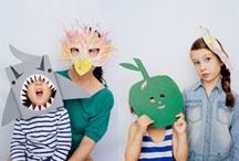 Enfants : Carnaval / Masques - Maquillages / by Lili Bird