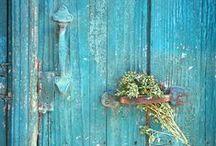 Turquoise & Mint - Blue