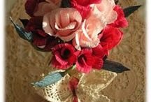 DIY Kwiaty z bibuły, krepiny, papieru / Zapraszam na moje kursy krok po kroku - rękodzieło, DIY, tutorials, pattern, szydełko, szycie, papier, kursy techniczne, kursy plastyczne, quilling, decoupade, haft. http://kursykrokpokroku.blogspot.com/