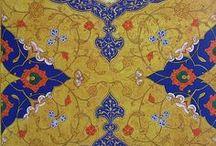 İslamic Illumination Art Works/Tezhip Sanatı