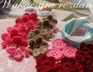 Kwiaty na szydełku / crochet flower / Zapraszam na moje kursy krok po kroku - rękodzieło, DIY, tutorials, pattern, szydełko, szycie, papier, kursy techniczne, kursy plastyczne, quilling, decoupade, haft. http://kursykrokpokroku.blogspot.com/