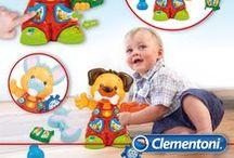Baby Clementoni / I prodotti Clementoni dedicati all'infanzia da 0-3 anni.  Per giocare, imparare e crescere
