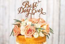 Wedding Ideas: Let Them Eat (Wedding) Cake / Ooh lovely celebration cake inspiration!