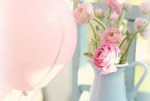 Colour Ideas: Pretty Pastels / Sigh if only we could decorate our home (and ourselves) with pretty pastels x