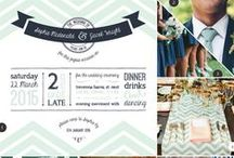 Wedding Themes: Nautical / All things nautical and nice, inspiration for our Oh Bouy wedding range