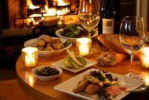 Food wine gourmet