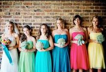 Wedding Colours: Rainbow Bright / Great rainbow coloured wedding inspiration for your special day xx