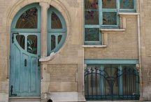Art Nouveau / Ideas para la inspiración de la época modernista