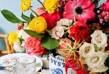 """Wedding Ideas: Florals & Fauna Bouquets / There's nothing that shouts """"Spring is here"""" then pretty flowers! Perfect inspiration for those wedding flowers."""
