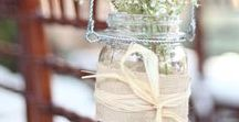 Wedding Themes: Rustic Wedding Ideas / Lovely vintage and rustic style with hints of the West Country and folk tunes!