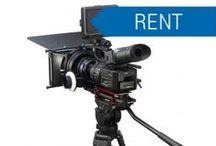 Noleggio / Fotocamere ,Videocamere, Cinecamere e accessori Professionali. Audio Professionane. Presentation  Rental Visual Rental Broadcast Rental Cinema