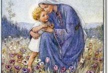 Jezus, Maryja i Święci / Zapraszam na moje kursy krok po kroku - rękodzieło, DIY, tutorials, pattern, szydełko, szycie, papier, kursy techniczne, kursy plastyczne, quilling, decoupade, haft. http://kursykrokpokroku.blogspot.com/