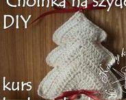 Boże Narodzenie DIY / Zapraszam na moje kursy krok po kroku - rękodzieło, DIY, tutorials, pattern, szydełko, szycie, papier, kursy techniczne, kursy plastyczne, quilling, decoupade, haft. http://kursykrokpokroku.blogspot.com/