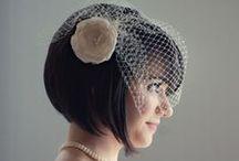 Wedding  Short Hairstyles / Kısa Gelin Saçları