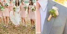 Wedding Colours: Blush & Dove Grey / Silver / Blush pink and dove grey (with a hint of silver) wedding inspiration