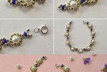 Biżuteria DIY - Jewelry / DIY, tutorials, free pattern, samouczek, zrobisz sam, szydełko, szycie, papier, kursy techniczne, kursy plastyczne, quilling, decoupade, haft.  http://kursykrokpokroku.blogspot.com/