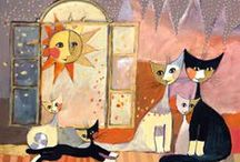 Cats starring in Art