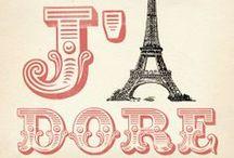 La France: j'adore ♥