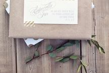 Weddings: paper goods