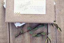 Weddings: paper goods