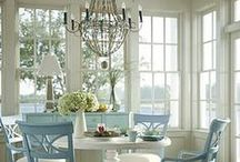 ::BEACH HOUSE IDEAS SPOT:: / Decorating ideas and tips for a beach house. / by InventorSpot
