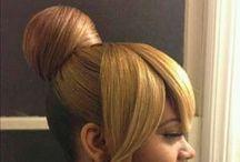 buns&hairdos  / Hair, hair, and hair / by Tamika D. P. B., RN, MSN