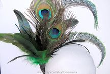 Flapper 1920's accessories / Gatsby, Prohibition and 1920 party headpieces and costumes.