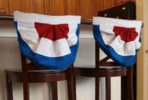 4th of July Home Inspiration / Add flairs of patriotism to your home with these great craft and decorating ideas