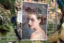 CRAFTS ON COLUMBUS NYC / Fascinators by Dora Marra ar spring Crafts on Columbus. Check out www.doramarra.etsy.com