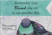 Gratitude / www.facebook.com/SilverLiningOfYourCloud AND www.silverliningofyourcloud.wordpress.com