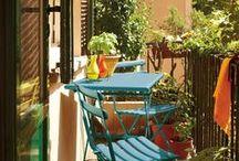 Green and Cozy Balcony