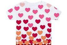 Valentine's Day / Fun Valentine's day stuff with Drape Studio design products- gifts, home dec & apparel