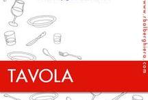 TAVOLA / La cura assoluta nella preparazione della tavola, l'amore per il dettaglio, il desiderio di creare un ambiente unico utilizzando prodotti di qualità sono i principi che stanno alla base di tutti i prodotti per la tavola proposti da RB Alberghiera. Per visionarli, fissa un appuntamento al n° 0332.202016 o all'indirizzo info@rbalberghiera.com!