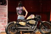 Harley Davidson XL 1200 Sportster / Niesamowity Harley Davidson XL 1200 Sportster z Cult Werk oraz tłumikiem REMUS INNOVATION.  Idealny na weekendowy cruising? :)  Remus Polska http://www.remus-polska.pl/