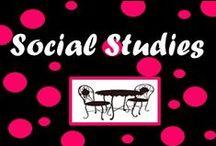 Social Studies (Middle/High School) /  Creative ideas to teach middle/high school social studies / by Middle School Cafe
