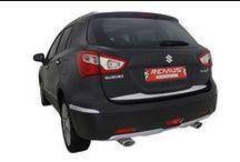 Sportowy tłumik Remus dla Suzuki SX4 / Sportowe tłumiki tylne wraz z polerowanymi końcówkami wydechu REMUS INNOVATION dla Suzuki SX4.  Nawet popularny, miejski SUV może brzmieć i wyglądać sportowo! Najwyższej jakości system, oprócz poprawy dźwięku i wyglądu zapewnia również odrobinę mocy - wszystko dzięki polepszeniu przepływu spalin.   Zapraszamy do Remus Polska! http://www.remus-polska.pl/
