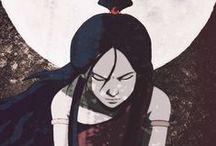 Avatar + Legend of Korra / Avatar ftw ゚+。:.゚ヽ(*´∀`)ノ゚.:。+゚  yahh.. and I ship Zutara (*´∪`)