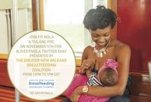 Breastfeeding NOLA: Healthier Families, a Stronger Community / On Thursday, November 5th 2015, we partnered with Fit NOLA and Guest Host Greater New Orleans Breastfeeding Awareness Coalition to host our #LiveFitNOLA Twitter Chat about Breastfeeding!