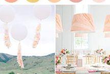 A Colourful Spanish Do / Wedding colour palette ideas