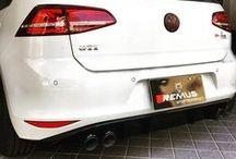 Sportowy układ wydechowy Remus dla Volkswagen Golf VII GTI / Sportowy układ wydechowy z poczwórnymi końcówkami Remus to obowiązkowy element dla Volkswagena Golfa GTI!  Twój Golf VII GTI może brzmieć równie dobrze jak prawdziwe superauta! Dzięki kompletnemu systemowi dźwięk kompaktowego hot hatcha staje się nie tylko głośniejszy - zyskuje również barwa oraz głębia wydobywającego się brzmienia.  Przekonaj się o zaletach układu wydechowego w Remus Polska! http://www.remus-polska.pl/