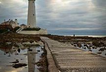 Lighthouses. / Coastal lights
