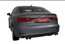 Sportowy tłumik Remus dla Audi A3 Sedan / Twoje Audi A3 Sedan potrzebuje bardziej rasowego dźwięku?   Mamy na to sposób! Sportowy tłumik REMUS INNOVATION wraz z poczwórnym zakończeniem zapewni basowe brzmienie, zupełnie niepodobne do oryginału! Poprawi również wygląd tylnej części auta, dzięki stylowym końcówkom Remus!   Tylko w Remus Polska!  http://www.remus-polska.pl/