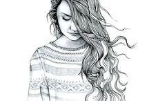 Martina girl illustration